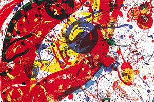 「Untitled」 1988 リトグラフ