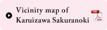 Vinicity map of Karuizawa Sakuranoki