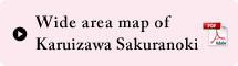 Wide area map of Karuizawa Sakuranoki