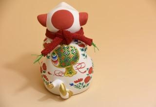 林 美木子「お伽犬」7.5×5.2×H8㎝