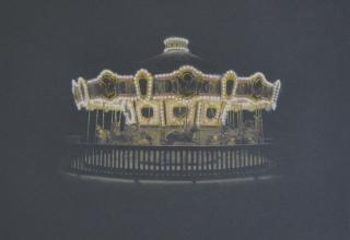 阪本トクロウ 「エンドレスホリディ」 35×35cm  アクリル/高知麻紙