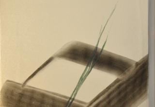 篠田桃紅「無題」 60×40cm