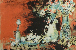 ジャンセン 「テーブルの上の静物」