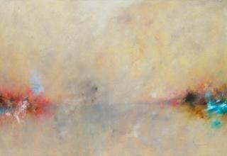 大和田いずみ 「Landscape」 油彩86.2x127