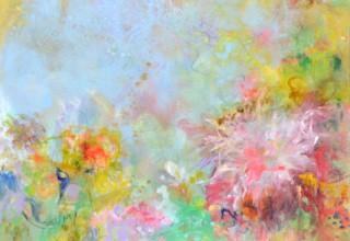 大和田いずみ 「Flowers」油彩15号