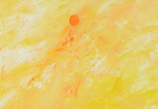 ザッキ「まぶしさ」油彩10号
