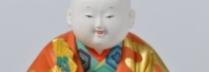 林駒夫・林美木子_「福の神」_H21.2×W16×D11.8㎝