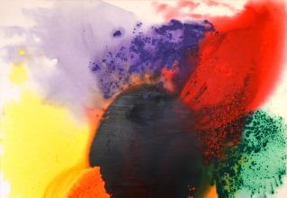 水野竜生「wonder color」油彩60号