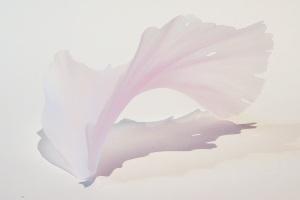 小曽川瑠那 「ひとひらの記憶」 ガラス 8.5×11.8×6cm