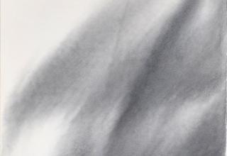 「天の羽衣」墨 80×35㎝