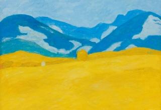 「プロヴァンスの麦畑」油彩 12号