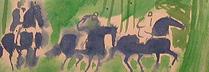 ブラジリエ「プランタン」 水彩