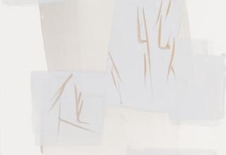 「おもえども-Elapse-」ドローイング  60×39cm  2006年制作