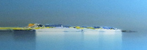 ドートルロー 「青い海と空」 パステル