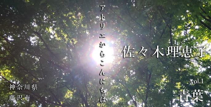 """佐々木理恵子 vol.1  """"青葉"""""""