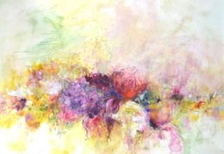大和田いずみ 「Flower」 油彩40号