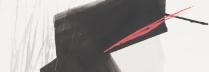 篠田桃紅 「ドローイングB」 39×60cm