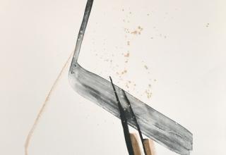 「ALEGORY」リトグラフ+手彩 78×56cm  2017年制作