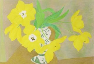 篠田桃紅 「爽風」リトグラフAP版 2007 53.3×72cm