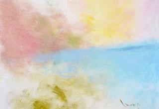 大和田いずみ 「風景」 油彩8号