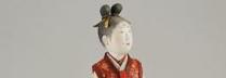 林駒夫 「青丹よし」 W9.4×D8×H37