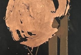小林海来 「無題」 ミクストメディア 27.2×22