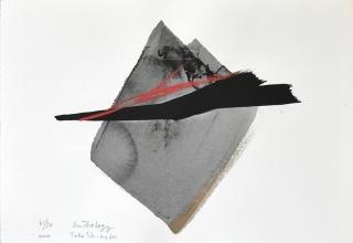 「AnThology」リトグラフ+手彩 28×38cm 2004年制作