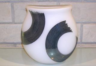 ロバート・ウィン「リップル」手吹きガラス