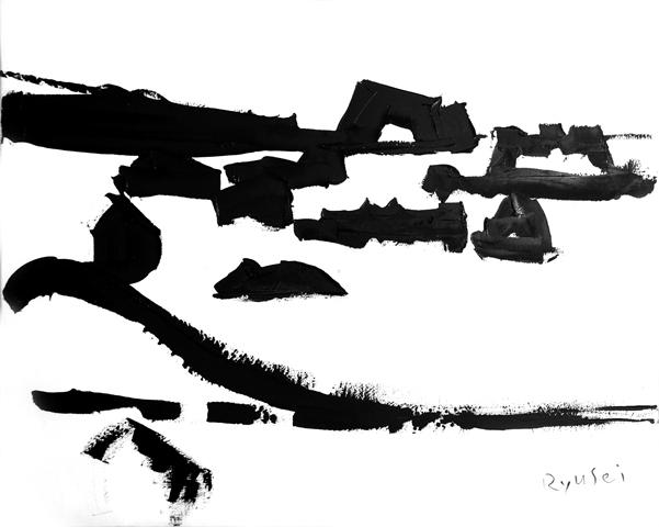 水野竜生「北立島」30号