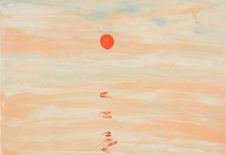 水野竜生「102 Beautiful Sun rise425」F10号