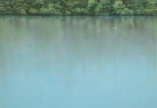 「水面」アクリル 30号