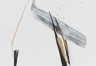 篠田桃紅 「ALEGORY」78×55cm