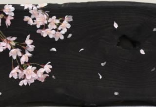 佐々木理恵子 「はらりはらり」 22.3×45.1cm