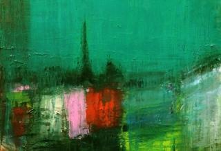 「Paris」油彩10F