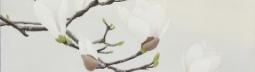 「春ほのかに」日本画50×61㎝