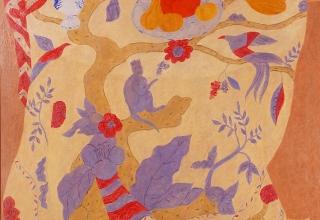 「生命の木」油彩 100号