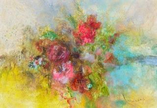 「Bouquet」45.5×61㎝