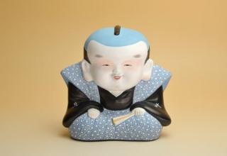 林 美木子「福助」桐塑人形