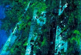 ジャン・マリー・ザッキ 「生来の欲望」 油彩30×90