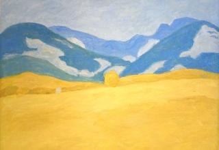 ボンコンパン 「プロヴァンスの麦畑」 油彩12号