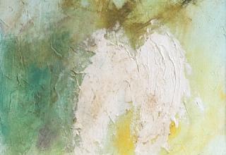 「天使の羽根」油彩6号
