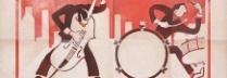 野依幸治「Duo+Solo=Trio」油彩、砂/キャンバス 53×53㎝