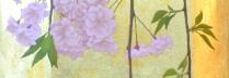 佐々木理恵子 「残桜」 90×33cm