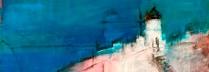 吉岡耕二 「サントリーニ」 油彩60.6×72.7 F20号