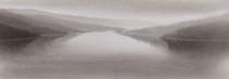 田中みぎわ「天地」 25×80cm