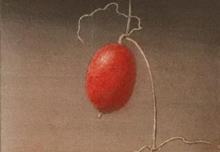 「秋色」洗い出し 30×15cm