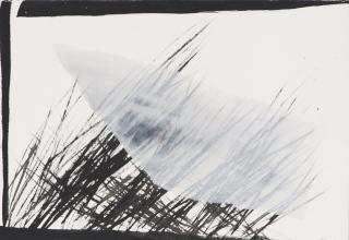 「回想-Elapse-」ドローイング  45×63㎝  2006年制作
