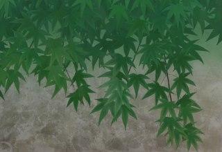 「深緑」日本画65×90㎝