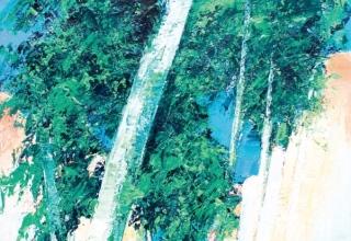 J.M.ZACCHI 「甘い静謐」 油彩6号