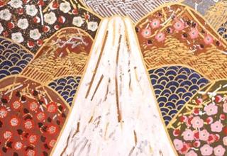 東山魁夷 富士図 白 日本画6号